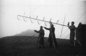 Antennen Test 1952