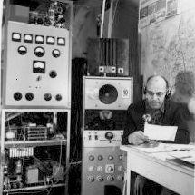 HB9CU Shack 1954