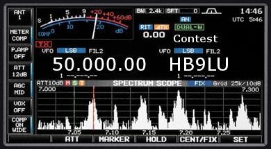 contest 50 MHz hb9lu